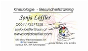 Sonja Löffler -  Kinesiologie - Gesundheitstraining - Schwangerschaftsgymnastik