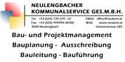 Neulengbacher Kommunalservice Ges.m.b.H. - Baumeister, Planung, Bauleitung, Bauführung, Sachverständiger