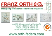 Franz Orth & Co Gesellschaft m.b.H. & CoKG - Erzeugung technischer Federn und Biegeteile