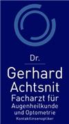Dr. Gerhard Achtsnit -  Facharzt für Augenheilkunde und Optometrie, Kontaktlinsenoptiker