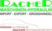 Racher GmbH - Maschinen-Hydraulik IMPORT-EXPORT-GROSSHANDEL