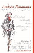 Andrea Baumann -  Farbberatung, Stilberatung, Andrea Baumann