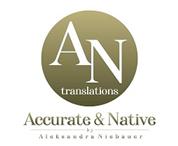 Aleksandra Niebauer, MA - AN translations
