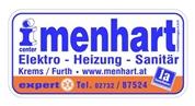 Installations-center-menhart Gesellschaft mit beschränkter Haftung - Installationscenter menhart GmbH 3511 Furth untere Landstraße 288