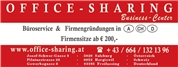OFFICE-SHARING GmbH -  OFFICE-SHARING Business Center, Büroservice & Firmengründungen in A - CH - D - I - In