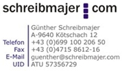 Günther Karl Schreibmajer - werbeagentur schreibmajer.com