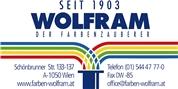G. Wolfram Farbenhandelsgesellschaft m.b.H. - Wolfram Farben