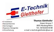 Thomas Gletthofer -  E-Technik Gletthofer