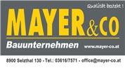 Mayer & Co OG - Bauunternehmen