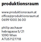 Philip Aschauer - produktionsraum
