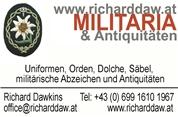 Richard Reinhold Dawkins - Militaria &  Antiquitäten