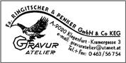 Gravuratelier Ringitscher & Penker GmbH & Co KG - Gravuratelier Ringitscher & Penker GmbH & Co KG