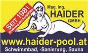 Mag. Ing. Haider GMBH - Schwimmbadbaugewerbe, Schwimmbadinstallateur