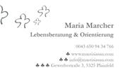 Maria Marcher -  Lebensberatung & Orientierung