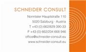 Oliver Schneider - Schneider Consult