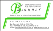 Bettina Zauner - Gebäudereinigung