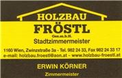 Holzbau Fröstl Gesellschaft m.b.H. -  Holzbau