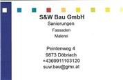 S & W Bau GmbH -  Baugewerbetreibender, eingeschränkt auf ausführende Tätigkeit