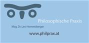 Mag. Dr. Leo Hemetsberger - Philosophische Praxis