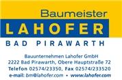 Ing. Gerhard Lahofer - Lahofer Bauunternehmen GmbH
