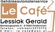 Gerald Thomas Lessiak - Le Cafe Getränkeautomaten