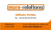 MORE RELATIONS CONSULT KG - Betriebsberatung