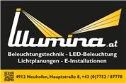 Illumina - Licht & Service GmbH - Beleuchtungstechnik, Lichtplanungen, E-Installationen, Energiemanagement