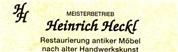 Heinrich Heckl - Restaurierungswerkstatt Heckl