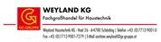 Weyland Haustechnik KG -  Fachgroßhandel für Haustechnik