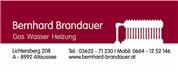 Bernhard Brandauer Gas Wasser Heizung e.U.