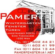 Karl-Heinz Pamer - Pamer Wintergärten Fenster Türen Ganzglassysteme u Sonnenschutz