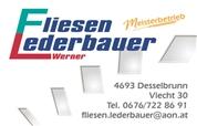 Werner Franz Lederbauer - Fliesen Lederbauer