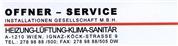 Offner-Service Installationen Gesellschaft m.b.H.