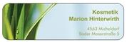 Kosmetik und Fußpflege Marion Hinterwirth e.U. -  Kosmetik Marion Hinterwirth