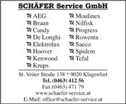 SCHÄFER Service GmbH -  Schäfer Service GmbH