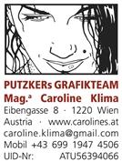 Mag.phil. Caroline Klima - Kreativwerkstatt für Text und Lektorat