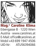 Mag.phil. Caroline Klima - Schreib- und Übersetzungsbüro