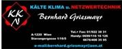 Bernhard Griesmayr - Kälte-Klima u. Netzwerktechnik   <br>          Bernhard Griesmayr