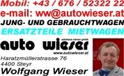 AUTOHAUS WIESER GmbH - A U T O H A U S  -  W I E S E R