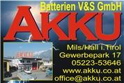 Akku Batterien V&S GmbH -  Akku und Batterie Fachhandel, Service und Verkauf
