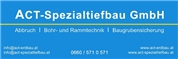 ACT Spezialtiefbau GmbH