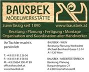 BAUSBEK Innenausbau e.U. - Bausbek Möbelwerkstätte - Tischlerei