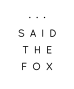 ...SAID THE FOX e.U. - Travel Accessories made in Austria