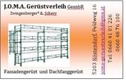 Otto Josef Zwingenberger - J.O.M.A. Gerüstbau und Gerüstverleih GesnbR