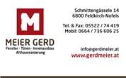Gerd Meier -  Tischlerei Althaussanierung