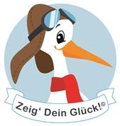 Dipl.-Ing. Wolfgang Kurz -  achtungbaby.eu - Storch Schild Geburt Baby Klapperstorch Storchschild Geschenk