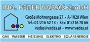 ING. PETER VADAS GmbH - Heizung - Sanitär - Installationen & Handel
