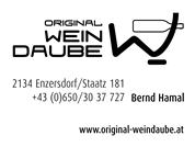 Bernd Hamal - Original Weindaube