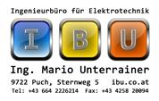 Ing. Mario Unterrainer - Ingenieurbüro für Elektrotechnik