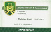 Christian Alfred Dastl -  Landmaschinen & Agrarbedarf